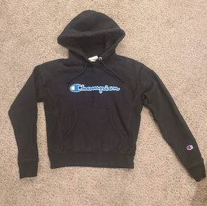 Champion Spellout Reverse Weave hoodie